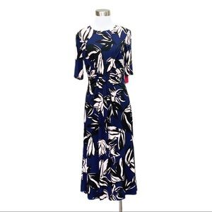 Vince Camuto floral dress NWT